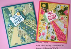 Starburst All Abloom DSP Stampin' Up!