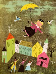 A Child's Garden of Verses by Robert Louis Stevenson, illustrated by Alice & Martin Provensen (1951).A Child's Garden of Verses by my vintage book collection (in blog form), via Flickr