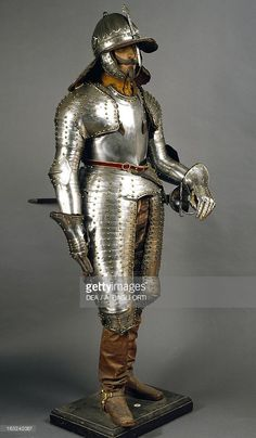 Stock Photo : Corselet in steel, circa 1640, Netherlands, 17th century