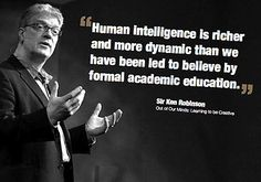 Sir Ken Robinson--check out his TED talk! http://www.ted.com/talks/ken_robinson_says_schools_kill_creativity.html