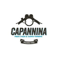Capannina, pizzeria a Pesaro - Logo Design: Emanuele Barduagni
