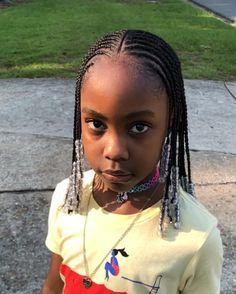 Cornrow hairstyles Body Jewelry and Today's Stars Article Body: Body jewelry and body piercing pract Little Girl Braids, Black Girl Braids, Braids For Black Hair, Girls Braids, Box Braids For Kids, Kids Braids With Beads, Children Braids, Kid Braids, Black Kids Braids Hairstyles