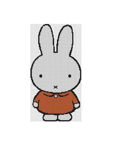 Cross Stitch Pattern PDF--  Miffy