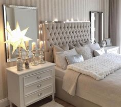Unique exquisitely admirable modern french bedroom ideas to steal 31 – fugar Grey Home Decor, Home Decor Bedroom, Living Room Decor, French Bedroom Decor, Master Bedroom Design, Interior Design Living Room, Dream Bedroom, Luxurious Bedrooms, My New Room