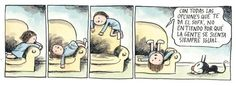 HISTORIETAS DE LINIERS Inspirational Phrases, Good Notes, Humor Grafico, Calvin And Hobbes, Life Is An Adventure, Teaching Spanish, Inner Child, Alter Ego, Book Lovers