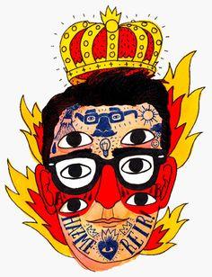 Mi cabeza por Ricardo Cavolo