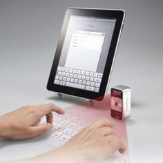 Laser Projection Keyboard    Ok if this seriously works im buying it right now, i need to see it in action first though, You tube hunting i shall go lol
