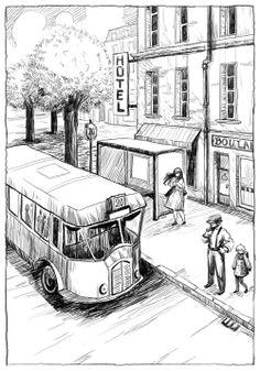 Clochette - Rue de Paris - Blog sur le dessin