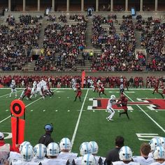 Good old #ivyleague #football on a fine #november #fallday #harvardcolumbia @harvard @columbiauniversity #pigskin #99isabeast