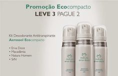 Rede Natura Maria Berlofa: Desodorante aerosol da Natura