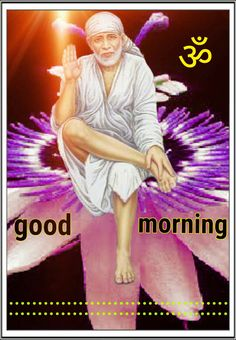 Good Morning Clips, Good Morning Images, Sai Baba Photos, Om Sai Ram, Good Day, Blessed, Crochet Bows, Dil Se, Whatsapp Group