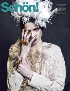 #LARUICCI #Rings in the May edition of #Schön! Magazine! Stylist: Jahulie Elizalde, Photographer: Nacer Paul