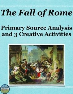 causes of the fall of rome Causes of the fall of rome 1 - free download as pdf file (pdf), text file (txt) or read online for free.