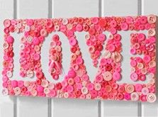 Craft Ideas : Projects : Details : love-button-mosaic