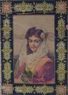 Veiled Lady Artwork