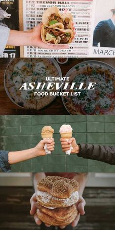 Best Places to Eat in Asheville NC - A Food Bucket List 49 Best Places to Eat in Asheville - Ultimate Asheville Food Bucket List - a mixture of both high-end dining as well as cheap-eats // Local Adventurer Half Moon Bay, Zermatt, Over The Rainbow, Best Places To Eat, Places To Travel, Travel Destinations, Camping Places, Asheville Food, Cabins In Asheville Nc