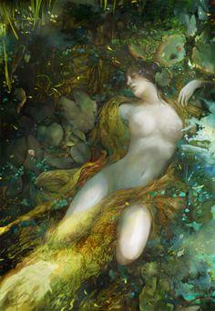 Ophelia2 by vikiey