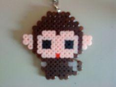 Perler Bead  monkey | Monkey hama perler beads | hama beads