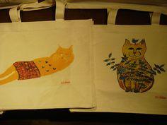 Mr. Pepe Shimada Japanese Artists, Paper Shopping Bag, Cats, Animals, Gatos, Animales, Animaux, Animal, Cat
