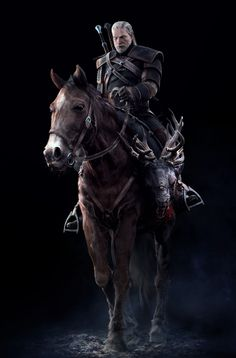 The Witcher 3: Wild Hunt..hard to play this game in peace when You're to busy worrying about your horse.