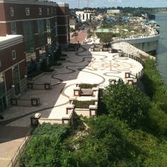View from the blue bridge Owensboro KY