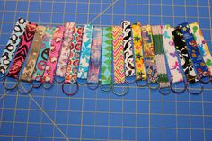 Duct Tape Keychain by DuctTapeGirlCreation on Etsy