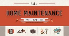 Fall Home Maintenance Checklist - Instandhaltung des Wohnraums Gutter Protection, Madison Homes, Home Maintenance Checklist, Home Safes, Home Pictures, Autumn Home, Spring Cleaning, Helpful Hints, In The Heights