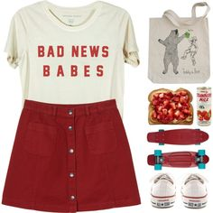 Anywhere by aguniaaa on Polyvore featuring Monki, Converse, polyvoreeditorial, polyvorecontest, polyvorefashion, PolyvoreMostStylish and MyFaveTshirt