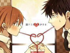 amo la pareja de miyagi x shinobu son tan kawaiis
