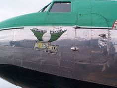 """Buffalo Airways: Your passage to the North. - Douglas DC-3, """"gambled and lost like """"Summer Wages"""""""" was in WW2.  Featured aircraft in History Channel program """"Ice Pilots""""!"""