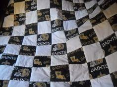 New Orleans Saints Quilt