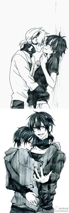 KonoShin || KuroShin. aww so cute I jist can't ignore this