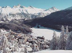 Moritz, December 📷 by Max Weiss. St Moritz, Mount Everest, December, Mountains, Winter, Instagram Posts, Nature, Travel, Winter Time