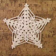 Set of 6 crochet snowflakes crochet by SevisMagicalStitches - Salvabrani Crochet Snowflake Pattern, Crochet Stars, Crochet Motifs, Crochet Snowflakes, Thread Crochet, Crochet Doilies, Crochet Flowers, Crochet Stitches, Crochet Patterns