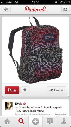 5deb51e69e Mochila · Cute BackpacksSchool BackpacksJansport Superbreak BackpackGirl ...