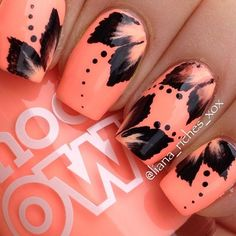 Fall nails art designs and ideas 2016
