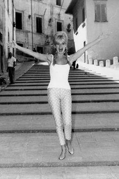 ¡Pillamos a Brigitte Bardot en bailarinas!  Taconless