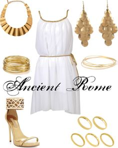 """""""Ancient Rome"""" by smascee on Polyvore"""