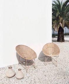 48 Ideas For Rattan Garden Furniture Seating Areas Wicker Chairs - Furnitures - Design Rattan Furniture Exterior Design, Interior And Exterior, My New Room, Home Design, My Dream Home, Interior Inspiration, Travel Inspiration, Design Inspiration, Garden Inspiration