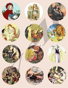 Circle Portrait Collage