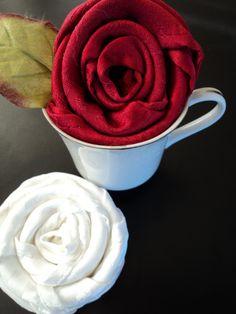 Napkin fold- perfect for a tea party!