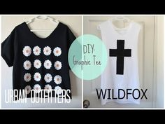 ✂ DIY: High End Graphic Tees - YouTube