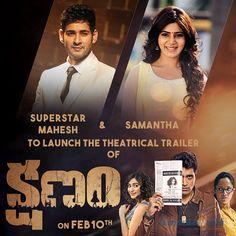 Mahesh Babu to launch theatrical trailer of Kshanam