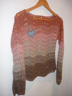 sweter crochet