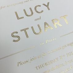 Freezing in Melbourne but gorgeous weather in Paris yesterday for the marriage of one of our beautiful brides. Such a special city to be married surrounded by family and friends. Gold foil on luxurious cotton #wedding #bride #weddinginspo #invitation #luxe #love #luxury #wedding #weddedwonderland #weddinginvitation #papyrusdesign #papyrusdesignevent #voguebride #gold #design #shangrila