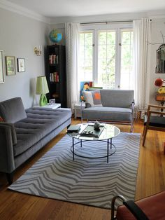 Safari Rug from west elm via @Apartment Therapy