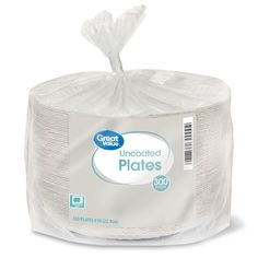 Option for Paper Plates; week 4