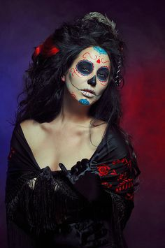 Dia de los Muertos III by Josslen on deviantART