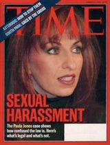 The impeachment saga of President Clinton has its origins in a sexual harassment lawsuit brought in Arkansas in May, 1994 by Paula Jones, a former Arkansas state employee.  In her suit, Jones alleged that on May 8, 1991, while she helped to staff a state-sponsored management conference at the Excelsior Hotel in Little Rock, a state trooper and member of Governor Clinton's security detail, Danny Ferguson, approached  told her that the Governor would like to meet her in his hotel suite.