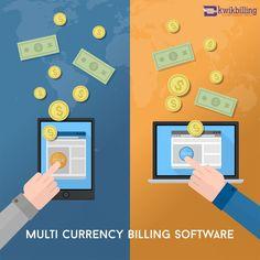 #KwikBilling - Multi Currency Online #Billing & Invoicing #Software